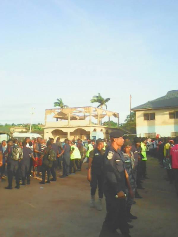 Police in Dansoman