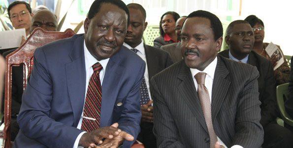Raila Odinga, Kalonzo Musyoka
