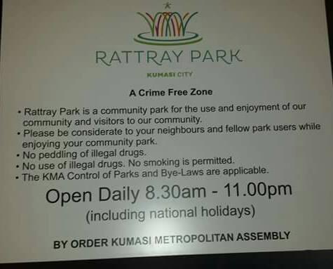 Rattray Park Kumasi City By-Laws = GossipGhana.ORG