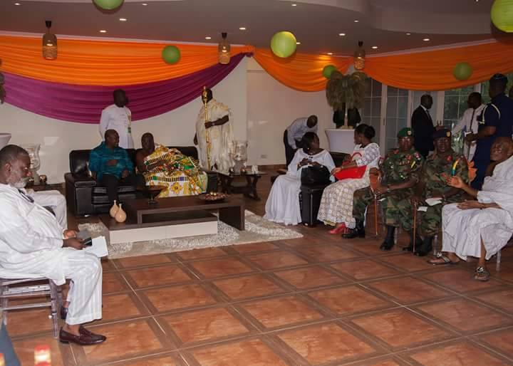 Rattray Park Kumasi City JDMahama & Otumfour 2 - GossipGhana.ORG