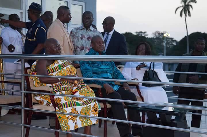 Rattray Park Kumasi City JDMahama & Otumfour - GossipGhana.ORG
