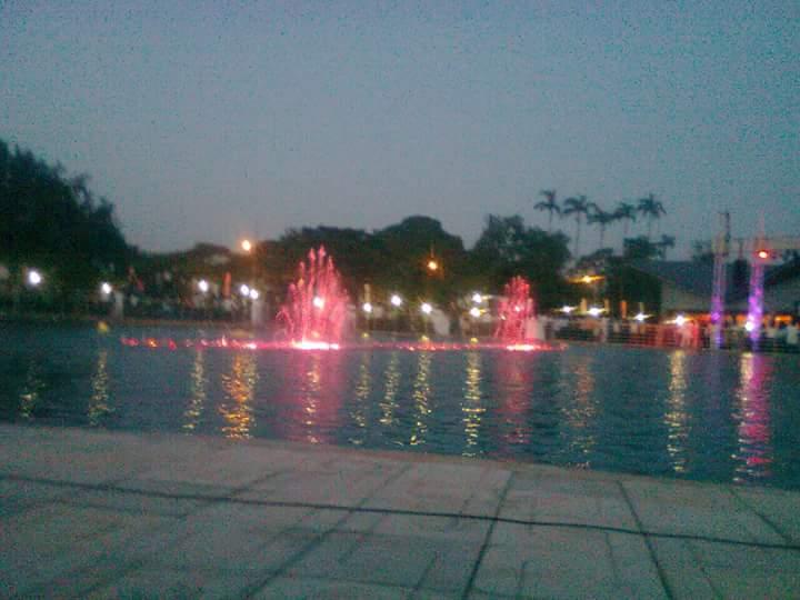 Rattray Park Kumasi City night scene 1 - GossipGhana