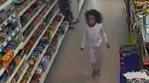 Shanay Walker was captured on shop CCTV the day before she was found dead