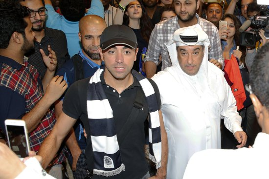 Spanish football icon Xavi