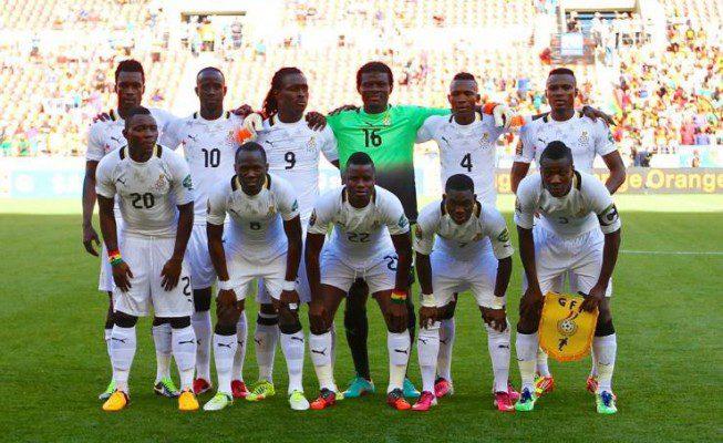 Back Stars of Ghana