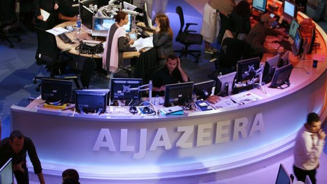Relations between Qatar, which owns al-Jazeera, and Egypt have been strained in recent years
