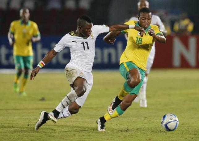 Ghana midfielder Wakaso Mubarak