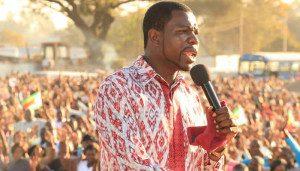 The controversial Pastor Walter Magaya, who cured a woman of ?chronic masturbation? in Zimbabwe. Image: Nehanda Radio