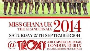 Miss Ghana UK Live Slated For Sept. 27