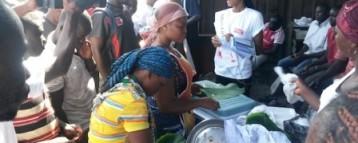 Miss Ghana Foundation on Ebola prevention crusade