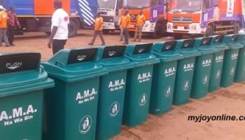 AMA To Begin Distributing Free Waste Bins