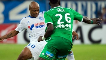 Ligue 1 Game: Andre Ayew escapes punishment for nasty challenge