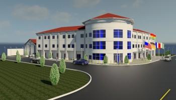 Sod Cut for the construction of Edusei Foundation Center