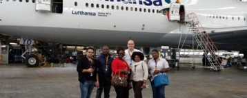 Lufthansa thank agents for excellent support