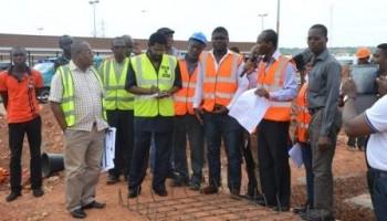 Accra Mayor visit BRT Depot