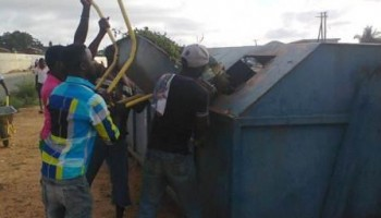 Anyaa-NIC residents undertake cleanup exercise