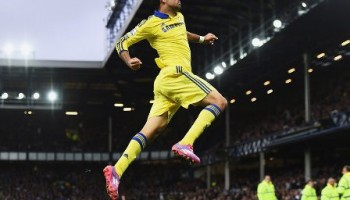 Chelsea Spanks Everton