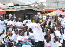 Photos from the launch of ONE Ghana campaign against Ebola