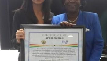 Tigo Provides Domestic Violence Secretariat With Internet