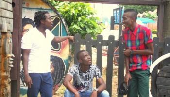 Paddy shot his first music video inside Dzorwulu