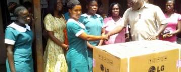 ISACA Donates To Accra Psychiatric Hospital