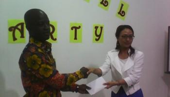 Ghanaian Staff Gets Sinopec Scholarship