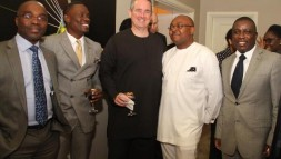 Jeffery Hawkins hosts some dignitaries