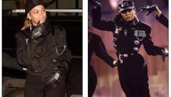 Beyonce and daughter pick the Jacksons on Halloween