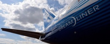 BA is set to launch its dreamliner the Boeing 787