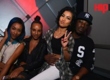 Jhene Aiko Plays Host At Dining role at IVY