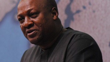 Liberia President Commends Mahama For His Support