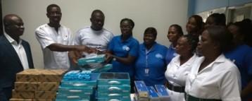 Keta Gov't Hospital Receives Medical Equipment From Tigo