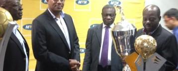 Asante Kotoko Presents Trophies To MTN Ghana