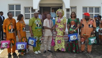 Mrs Obiano Hosts LGS Commissioners