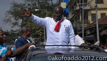 Thank God; Akufo Addo Crosses The First Hurdle!