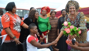 Let's Support The Less Privileged-Mrs Obiano