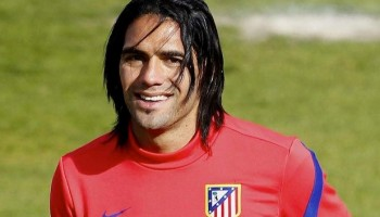 Radamel Falcao is set to spend the season at Old Trafford
