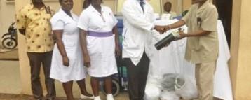 AAF Supports Korle-Bu,Ridge And Dangme Hospitals