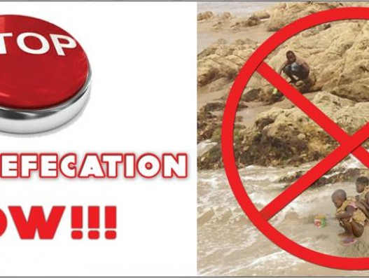 It's time to STOP OPEN DEFECATION NOW!!!