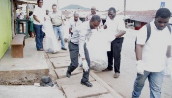 Keeping Obuasi clean and healthy