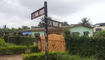 Sekondi Street Naming Exercise Going Steadily