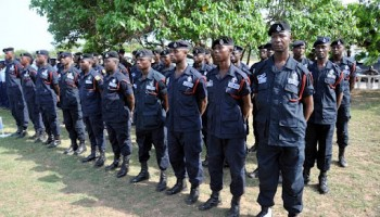 IGP inspects parade by deployed personnel