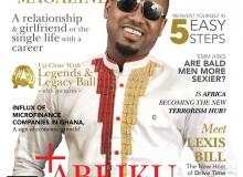 Photos – Checkout OK FM's Abeiku Santana On Exclusive Men's Magazine