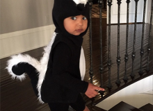 Baby North poised for Halloween