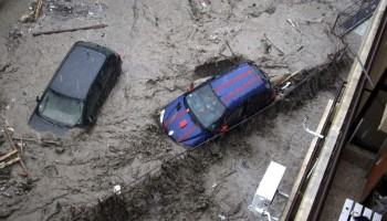 Flood Hit Some Parts France