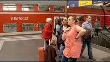 German travel chaos as train drivers strike