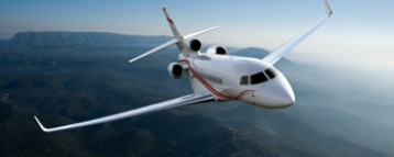 Largre Cabin, long range Falcon 7X from Dassault