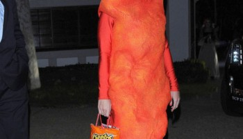 Katy Perry Is Cheeto Snack This  Halloween