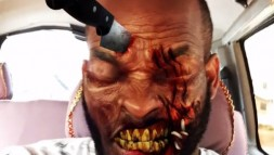 Lynxxx takes the title for the Scariest Halloween Look