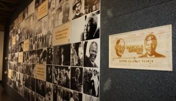 An exhibition celebrating Mandela and Gandhi opens